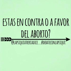 Imagen Crowdsourcing- Lapsiquiatreriadice - a favor del aborto