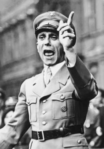 Principios de la propaganda Nazi de J. Goebbels