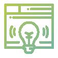 Icono de Ventana de Idea representativo en Marketing Digital