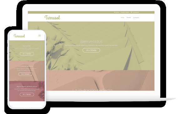 Foto7: Portafolio en Vista optimizada para celulares y pantalla de Escritorio de Agencia de Marketing Digital Vissonar