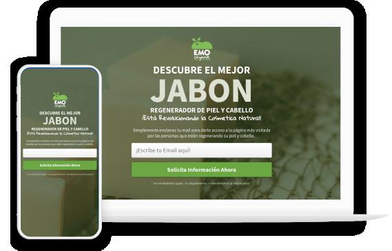 Foto8: Portafolio en Vista optimizada para celulares y pantalla de Escritorio de Agencia de Marketing Digital Vissonar